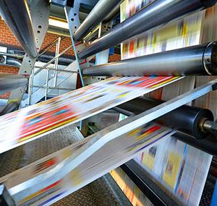 proces produkcji materiałów reklamowych